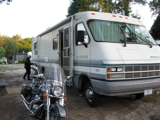 RV and Bike
