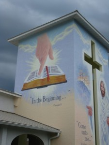 Mural, Faith Lutheran Church, Punta Gorda