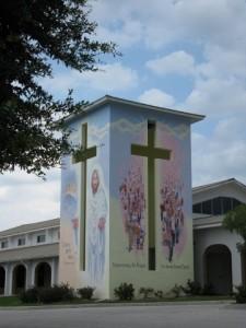 Mural, Faith Lutheran Church, Punta Gorda