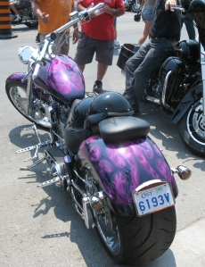 Purple Paint Job