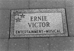 Ernie Victor Stone on Pathway of Fame