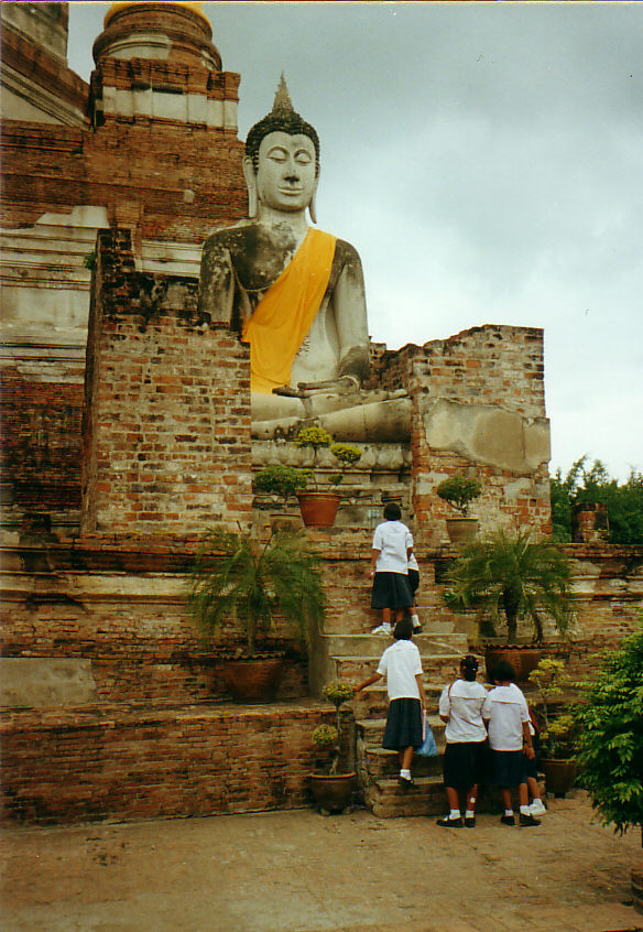 Ancient Palace Ruins -Ayutthaya