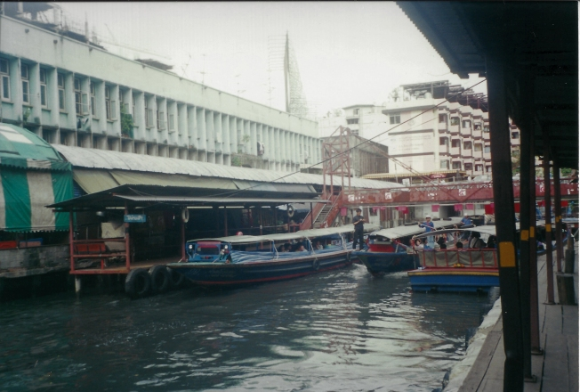 boats on Khlongs