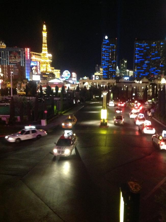 Night lights of Vegas