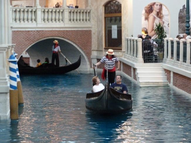 Gondolas, Venetian Hotel