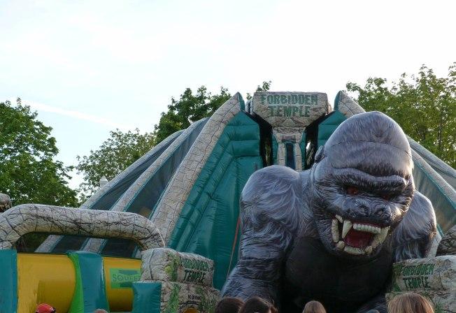 One Huge Bouncy Castle