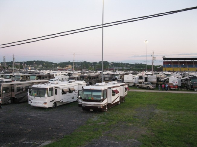 Sea of RVs