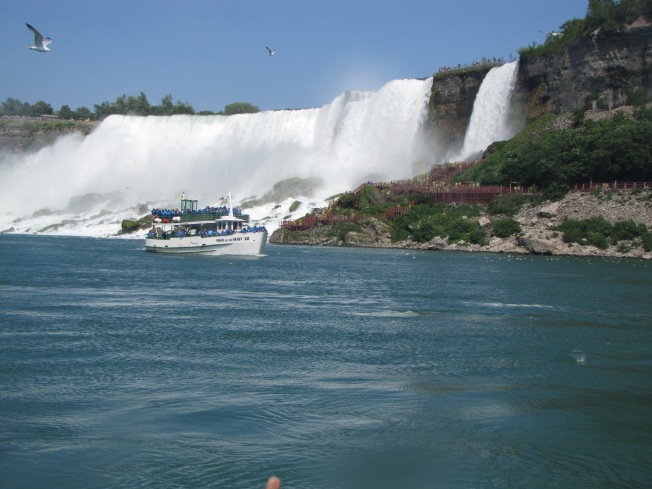 Falls from Maid of Mist