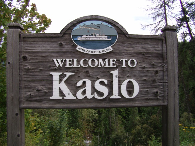 Kaslo sign