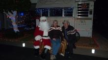 With Santa 2