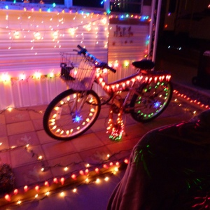 Lighted Bicycle