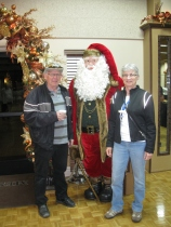With Santa 1