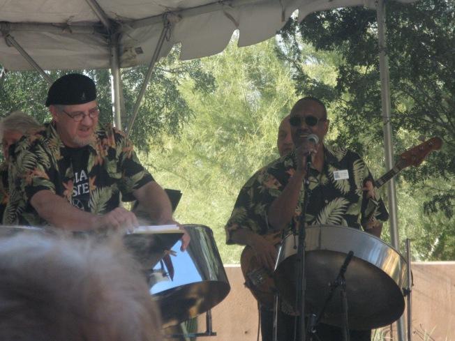 Steel Drum Band Performing