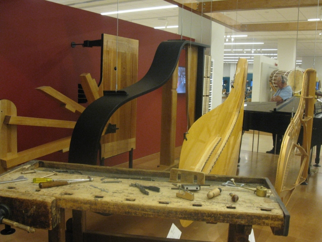 The parts of a Steinway