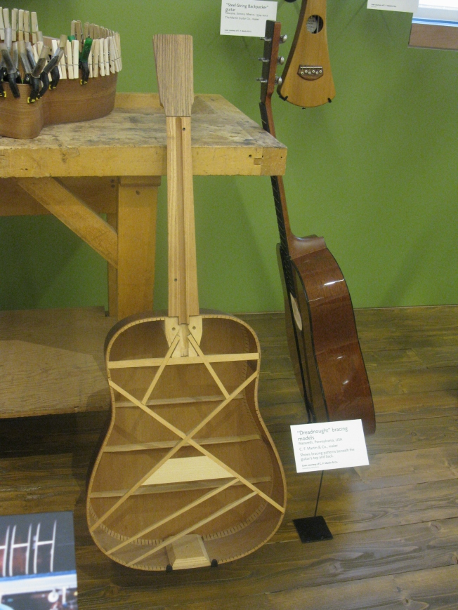 Martin Guitar in Making