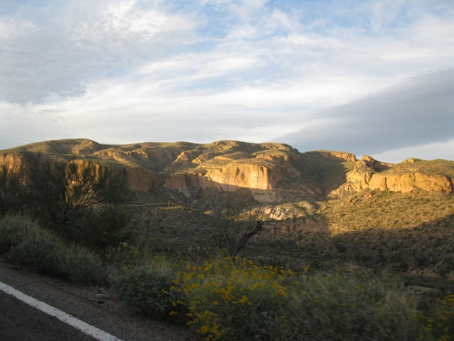 Sunset on the Apache Trail