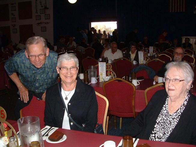 Jim, Judy, Mary Lee at Opry