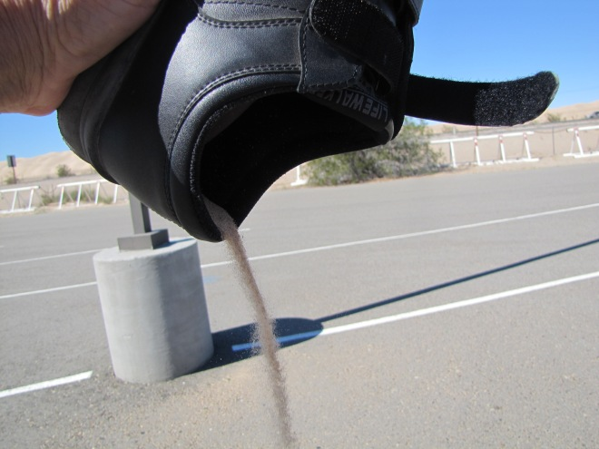 shoe sand