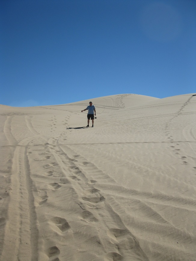 Walking the Sand Dunes