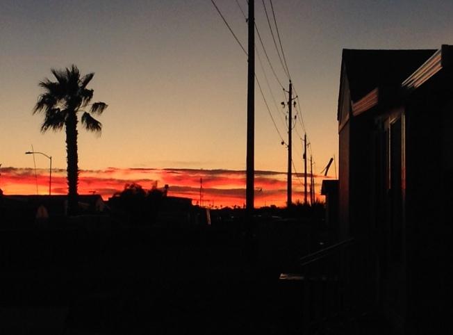 Sunset at Fortuna De Oro