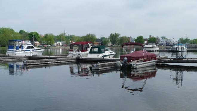 Boat Slips Filling Up
