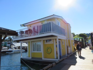 Tiny Floating Homes at the Warf