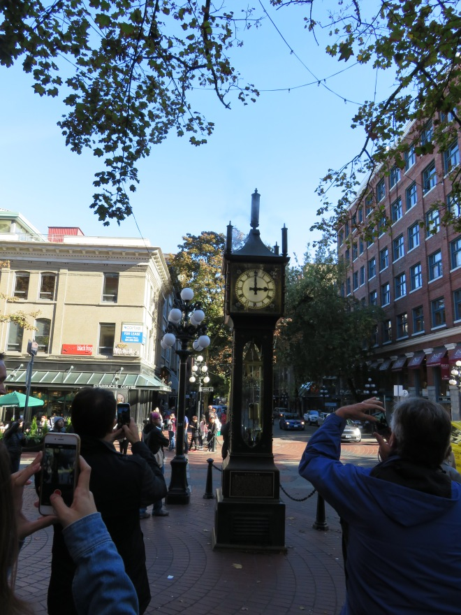 Stream Clock in Gastown