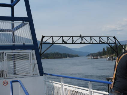 Riding the Ferry from Balfour