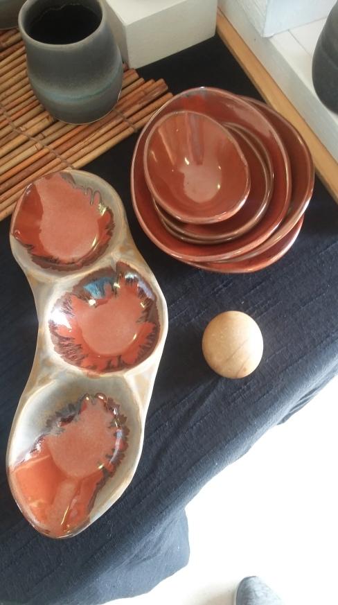 Sarah's latest pottery