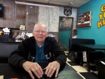 At Chuckwagon Cafe in McLean Texas