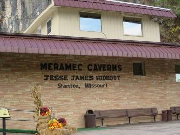 Outside Meramec Caverns