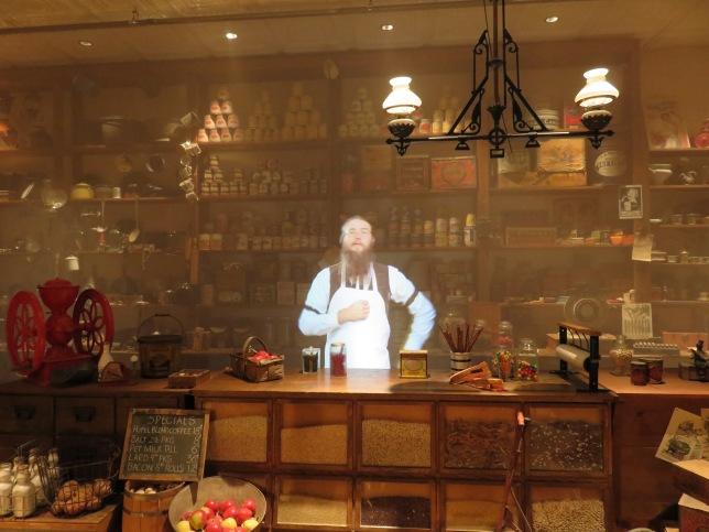 Inside Mercantile Store