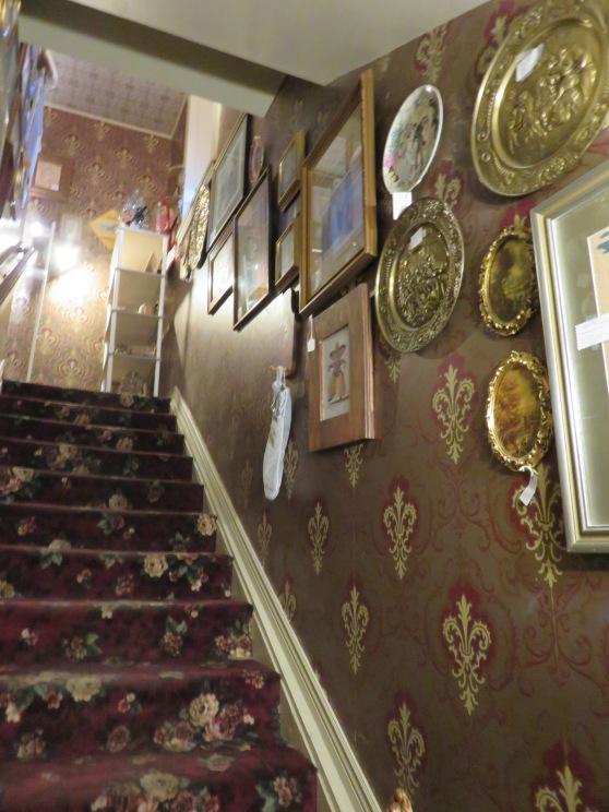Climbing the velvet staircase