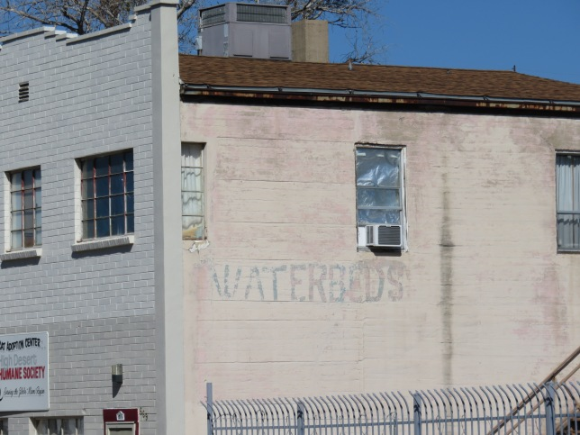 Waterbeds sign