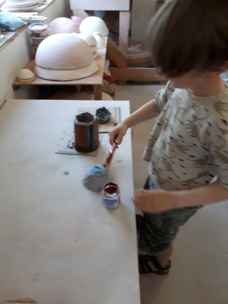 Adding Glaze (colour)