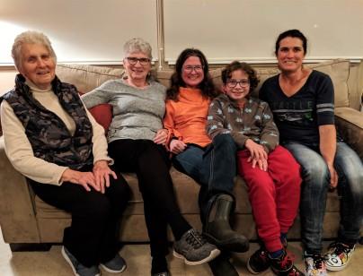 Three Generations of Ladies