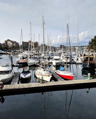 Granville Island Harbour, BC