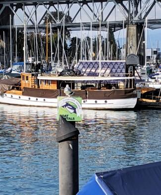 Interesting Old Boat in Harbour
