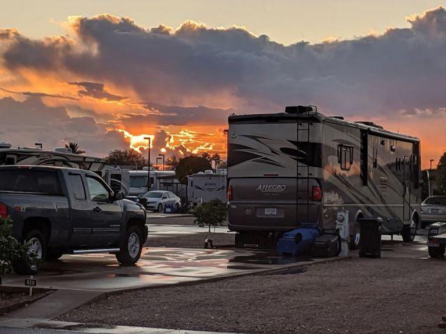 After Rain Sunset